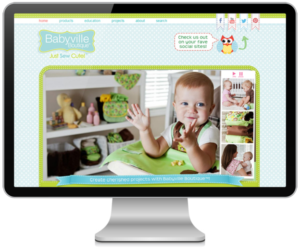 Babyville Boutique by Angel Hartline Designs