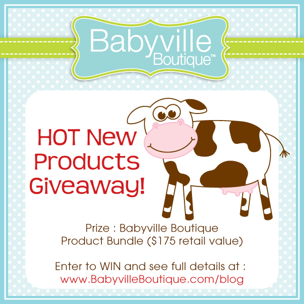 Babyville HOT New Products Giveaway! post image